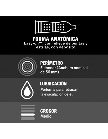 Durex Mutual Climax 10 Stck. Box information