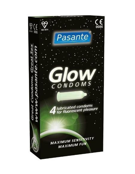 Pasante Glow Kondome leuchten im Dunkeln